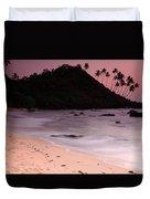 Cola Beach Sunset Duvet Cover