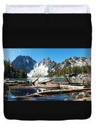 Colchuck Lake Panorama Duvet Cover