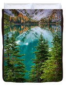 Colchuck Reflection Duvet Cover