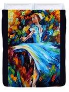Cold Ballet Duvet Cover