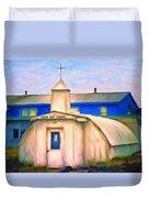 Cold Bay Chapel Duvet Cover