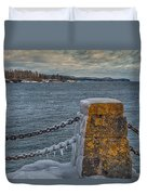 Cold Day On Superior Duvet Cover
