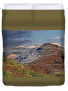 Cold Day On The Blue Ridge Duvet Cover