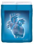 Cold Heart Duvet Cover