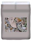 Cold Leaves Duvet Cover
