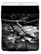 Cold Mountain Stream Hdr Work #1 Duvet Cover