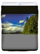 Cold Spring Day In Vermont Duvet Cover