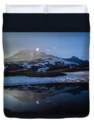 Cold Water Mountain Duvet Cover