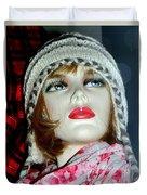 Cold Weather Cutie Duvet Cover