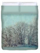 Cold Winter Day Duvet Cover