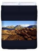 Coles Bay Colours Duvet Cover