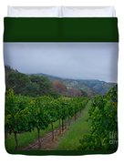 Colibri Vineyards Duvet Cover