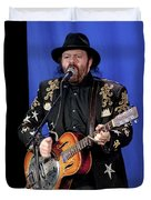 Colin Linden Of Blackie And The Rodeo Kings Duvet Cover