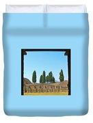 Coliseum At Pompeii Duvet Cover