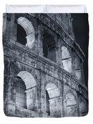 Colosseum Before Dawn Duvet Cover