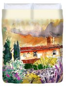 Colle D Val D Elsa In Italy 03 Duvet Cover