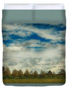 Collecting Thoughts Duvet Cover