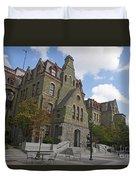 College Hall University Of Pennsylvania Duvet Cover