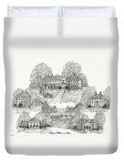College Of William And Mary Duvet Cover