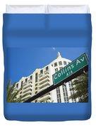 Collins Avenue Duvet Cover