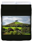 Colmers Hill At Symondsbury Duvet Cover