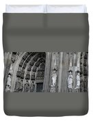 Cologne Cathedral South Side Detail 1 Duvet Cover