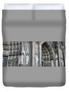 Cologne Cathedral South Side Detail 2 Duvet Cover