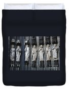 Cologne Cathedral Statuary Duvet Cover