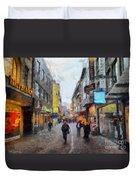Cologne Stroll Duvet Cover