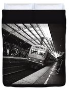 Cologne Trainstation Duvet Cover by Jimmy Karlsson