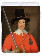 Colonel John Hutchinson, C.1643 Duvet Cover