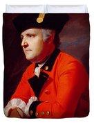Colonel John Montresor Duvet Cover