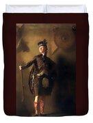 Colonel Macdonnel Of Glengarry Duvet Cover