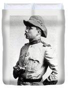 Colonel Theodore Roosevelt 1898 Duvet Cover