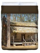 Colonial Cabin Duvet Cover