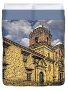 Colonial Church Duvet Cover