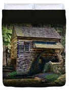 Colonial Grist Mill Duvet Cover