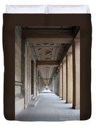 Colonnade Neues Museum Berlin Duvet Cover