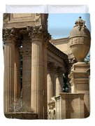 Colonnades Palaces Of Fine Arts Duvet Cover