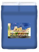 Colony Hotel In Delray Beach Duvet Cover