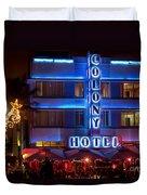 Colony Hotel South Beach Duvet Cover