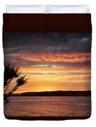 Color At Last Light Duvet Cover