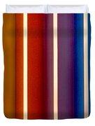 Color Bands Duvet Cover