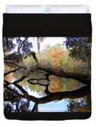Color Beyond The Branches Duvet Cover