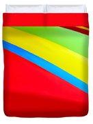 Color Contrast Duvet Cover