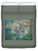 Color Corals Duvet Cover by Adam Jewell