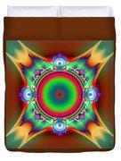 Color Cross Duvet Cover