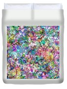 Color Filled Abstract Duvet Cover