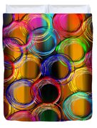 Color Frenzy 5 Duvet Cover