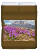 Color From Chaos - Mount St. Helens Duvet Cover